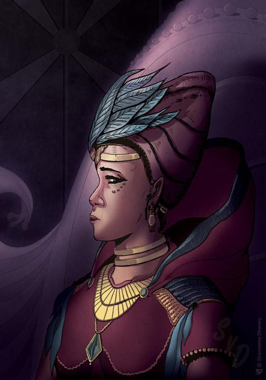 ShamVanDamnArt -Burden of the Throne