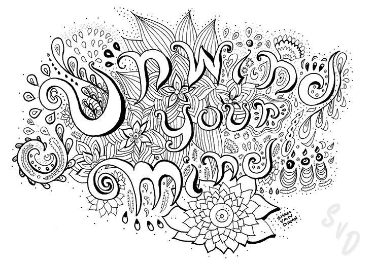 ShamVanDamnArt -Unwind Your Mind
