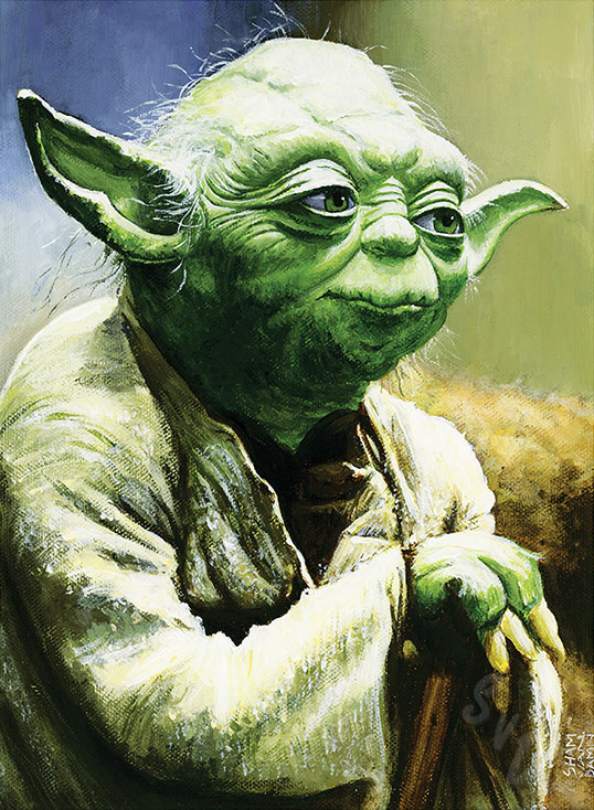 ShamVanDamnArt -Yoda