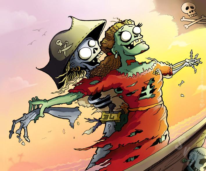 ShamVanDamnArt -Zombie Love